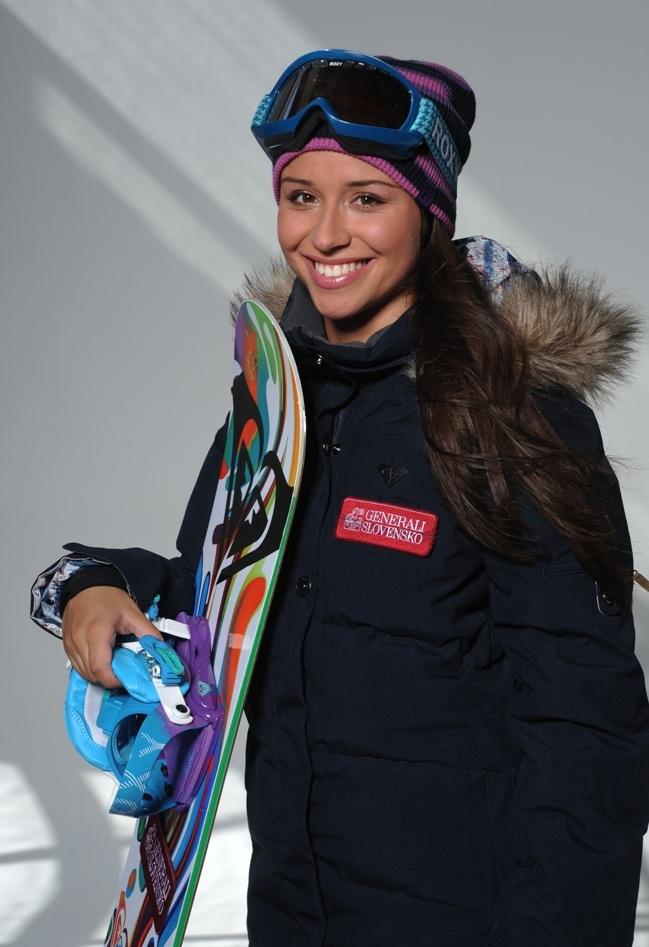 Február 2012 in snowboardistka klaudia medlová obsadila 14. miesto