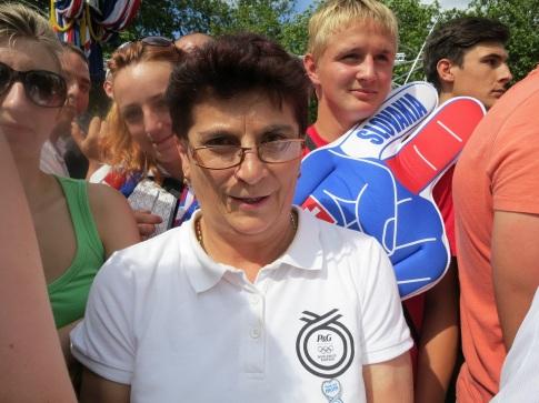 Vďaka projektu Ďakujem, mami! mohla matka vidieť Petra Sagana súťažiť na vlastné oči.
