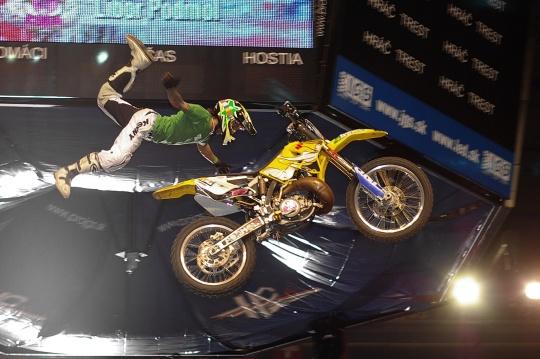 Sony Xperia freestyle X-Night: Libor Podmol v akcii