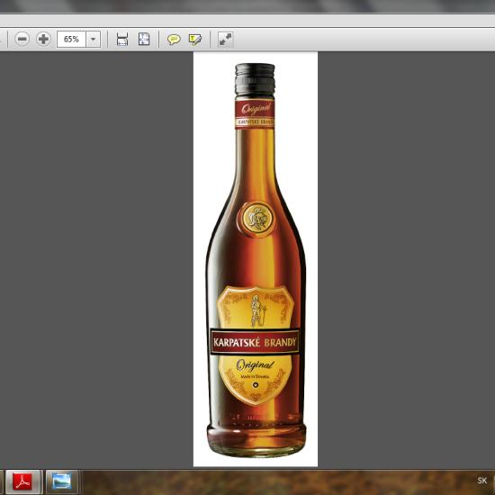 Karpatské brandy Originál