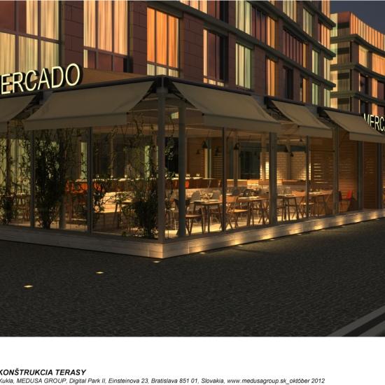 Projekt má byť pripomienkou moderných mestských tržníc