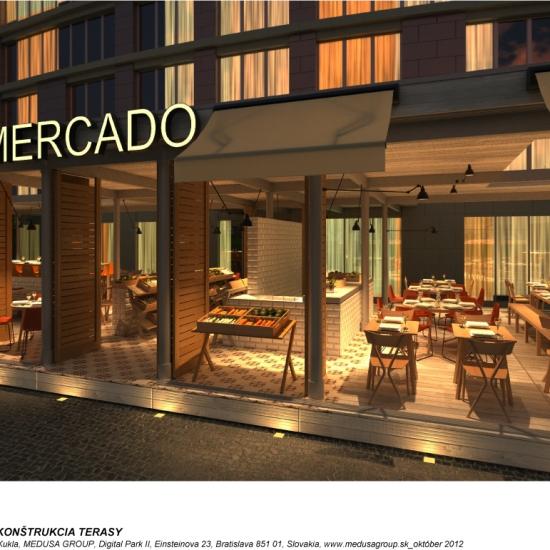 Mercado je názov nového pripravovaného projektu skupiny MEDUSA Group