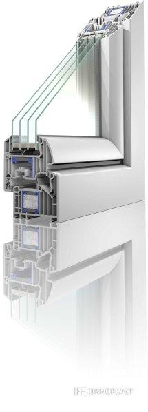 Okno Winergetic Premium Passive od OKNOPLAST spĺňa požiadavky pre pasívny dom