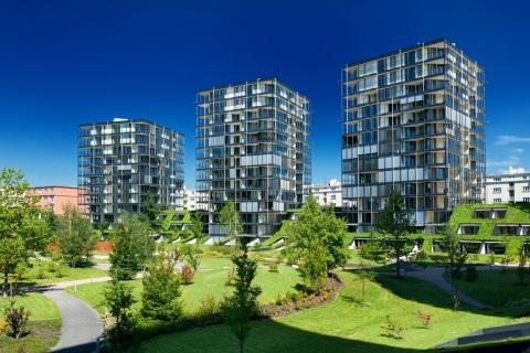 Pražský projekt, ktorý sa medzi slovenskou klientelou teší veľkej popularite, vyrástol do atraktívnej lokality širšieho centra Prahy.