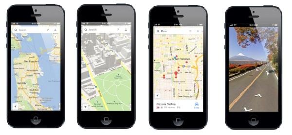 Google prináša aplikáciu Mapy Google pre iPhone