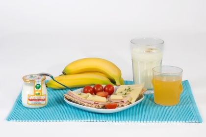 Potrme si na zdravé raňajky