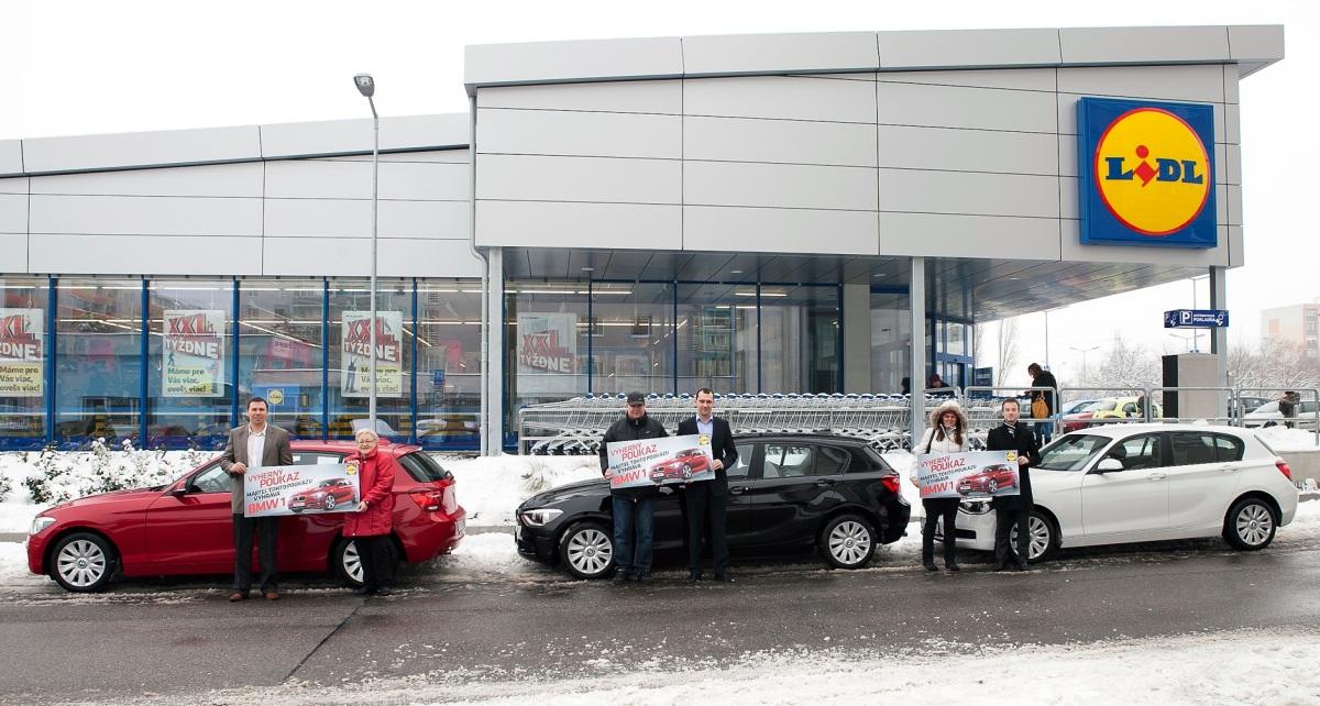 Súťaž LIDL o 3 autá má svojich víťazov! Pozrite sa, kto nakúpil v Lidli a odišiel v BMW (FOTO)