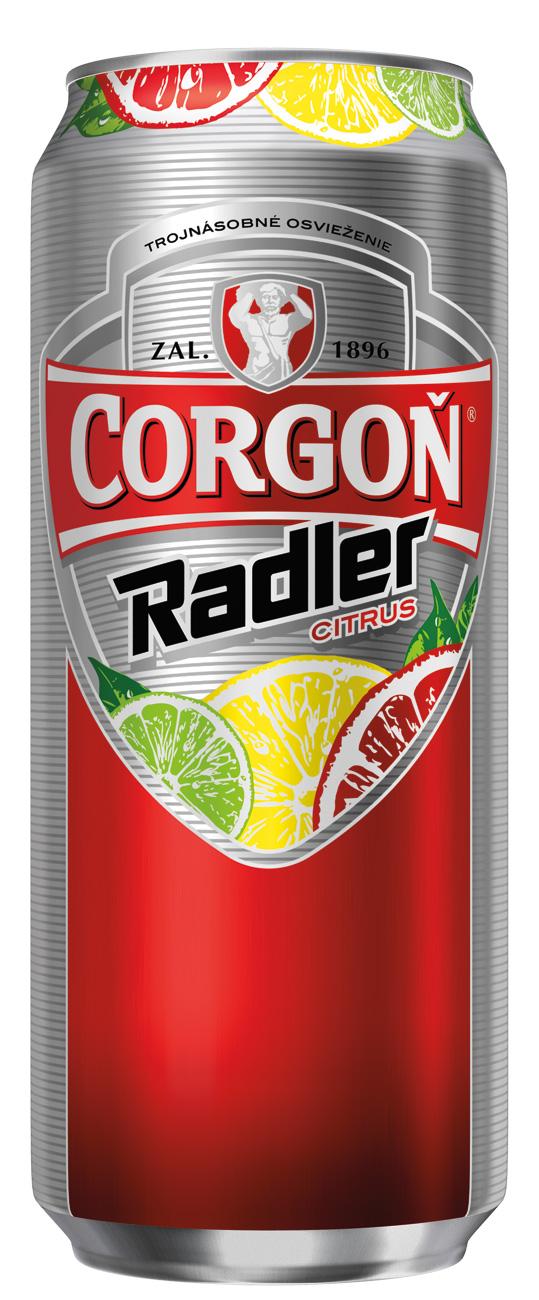 Corgoň prichádza s novinkou Corgoň Radler Citrus