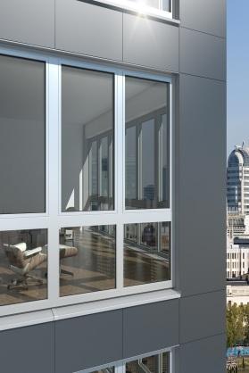 Spolu s hliníkovým dverným systémom ADS 112.IC vzniká optimálna energetická kombinácia, ktorá sa dá harmonicky začleniť do plášťov budov