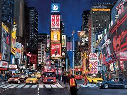 Time Square v noci