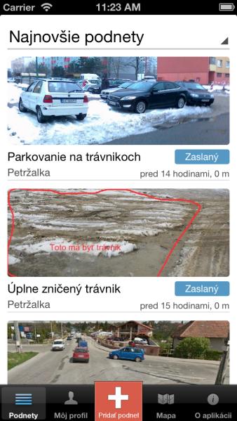 OdkazPreStarostu_screenshot_iOS_1