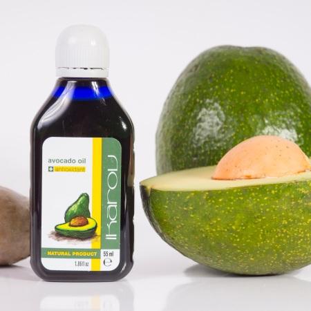 Avokádový olej Ikarov je prírodný antioxidant