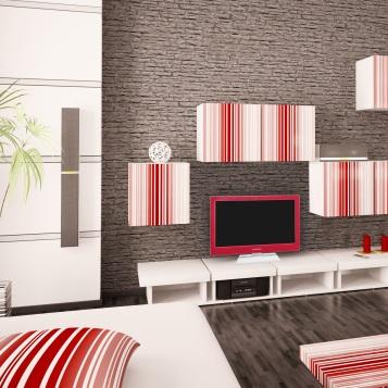 Za okamih premeníte klasický biely televízor vmódnu záležitosť trendovej zelenej, modrej, či červenej farby.
