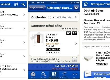 Nová mobilnú aplikácia IKEA