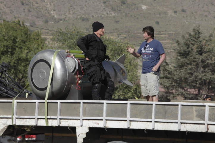 Dolph Lundgren s režisérom spotu Karlom Janákom. Kampaň je z dielne Wiktor Leo Burnett.