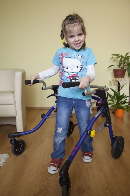 Nellka Vadovičová absolvovala unikátnu liečbu mozgovej obrny kmeňovými bunkami