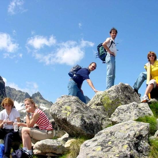 Medzi najnavštevovanejšie lokality Nízkych Tatier patrí Chopok 2024 m.n.m.