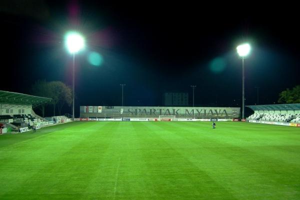 Umelé osvetlenie štadióna Spartak Myjava