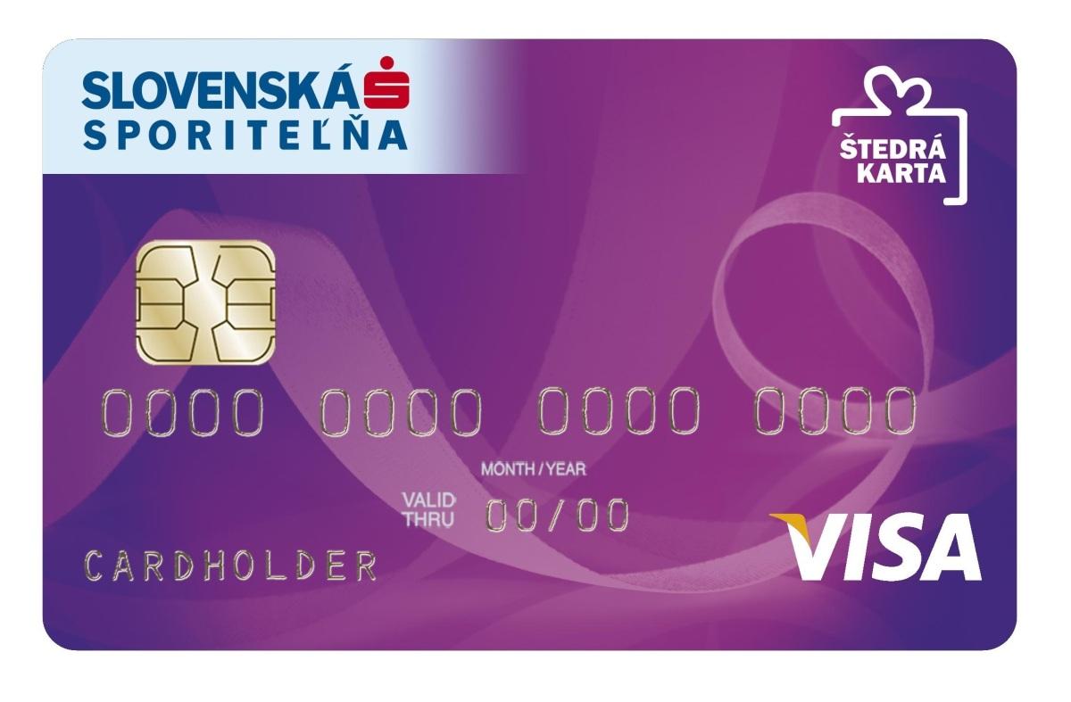 Štedrá karta Slovenskej sporiteľne: Banka vráti 2 percentá z uhradeného nákupu, k tomu darčeky a zľavy až 46 percent!