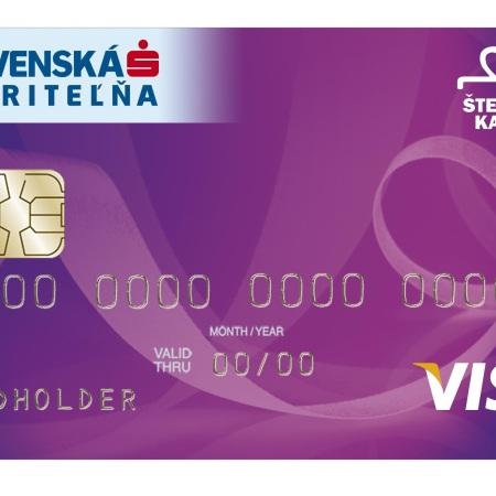 Slovenská sporiteľňa: Štedrá karta