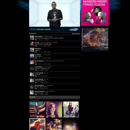 SuperTV a SuperStar na internete, moderátor Micha Sabo.