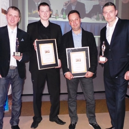 Agentúra CzART a TMR získali poľského mediálneho Oscara