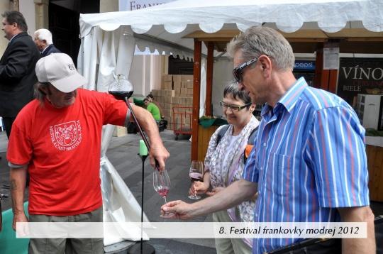 Do programu Korunovačných slávností sa po druhý raz zaraďuje aj 9. ročník Festivalu frankovky modrej a bratislavského vína.