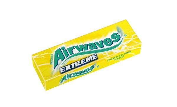 Značka Airwaves oživila svoje portfólio žuvačkami Airwaves Extreme spríchuťou citróna. Balenie s10 dražé dostanete za odporúčanú cenu 0,59 €.