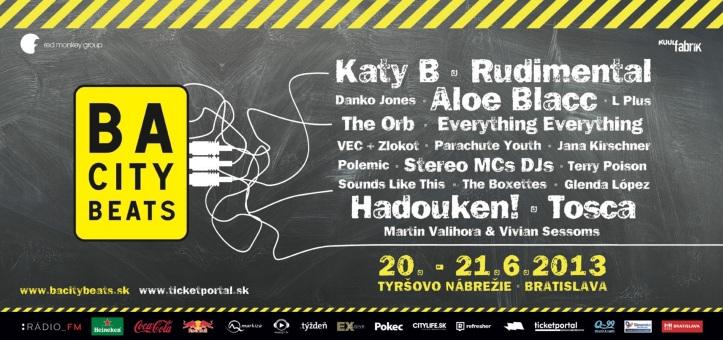 BA City Beats Bratislava: Billboard, program...