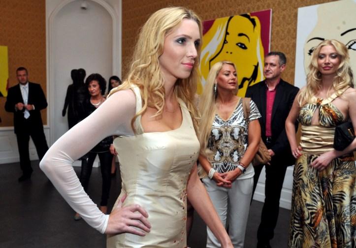 Rolu modelky si vyskúšala aj atraktívna Mária Kopecká.