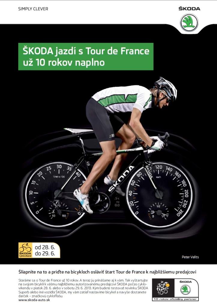 ŠKODA Cyklovíkend s Petrom Velitsom k štartu Tour de France