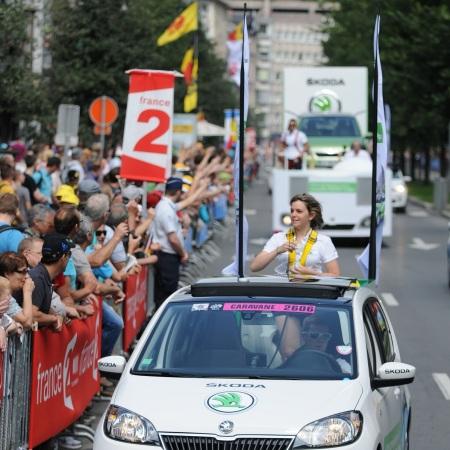 ŠKODA je hlavný sponzor Tour de France
