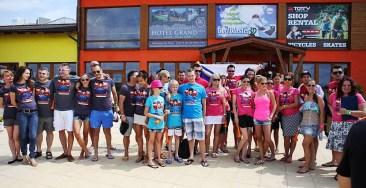 Liptovský akvapark bol v sobotu dejiskom, kde sa stretlo najviac celebrít na meter štvorcový. Druhý ročník Water Battle 2013 priniesol víťazstvo slovenskému tímu.