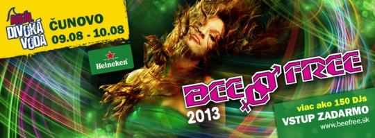 Festival BeeFree sa napokon uskutoční 9. - 10. augusta v  Čunove