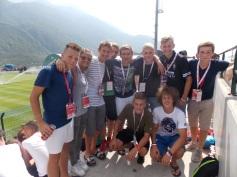 Chlapci zo Žiliny a dievčatá z Trebišova, ktorí 14. júna prevzali z rúk Martina Škrtela trofej pre šampiónov Coca-Cola Školského pohára 2013, si vybrali svoju odmenu za víťazstvo.