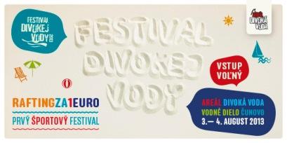 Festival Divokej vody 3. a 4. augusta