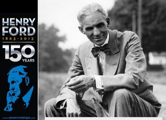 Celosvetové oslavy 150. výročia narodenia Henryho Forda
