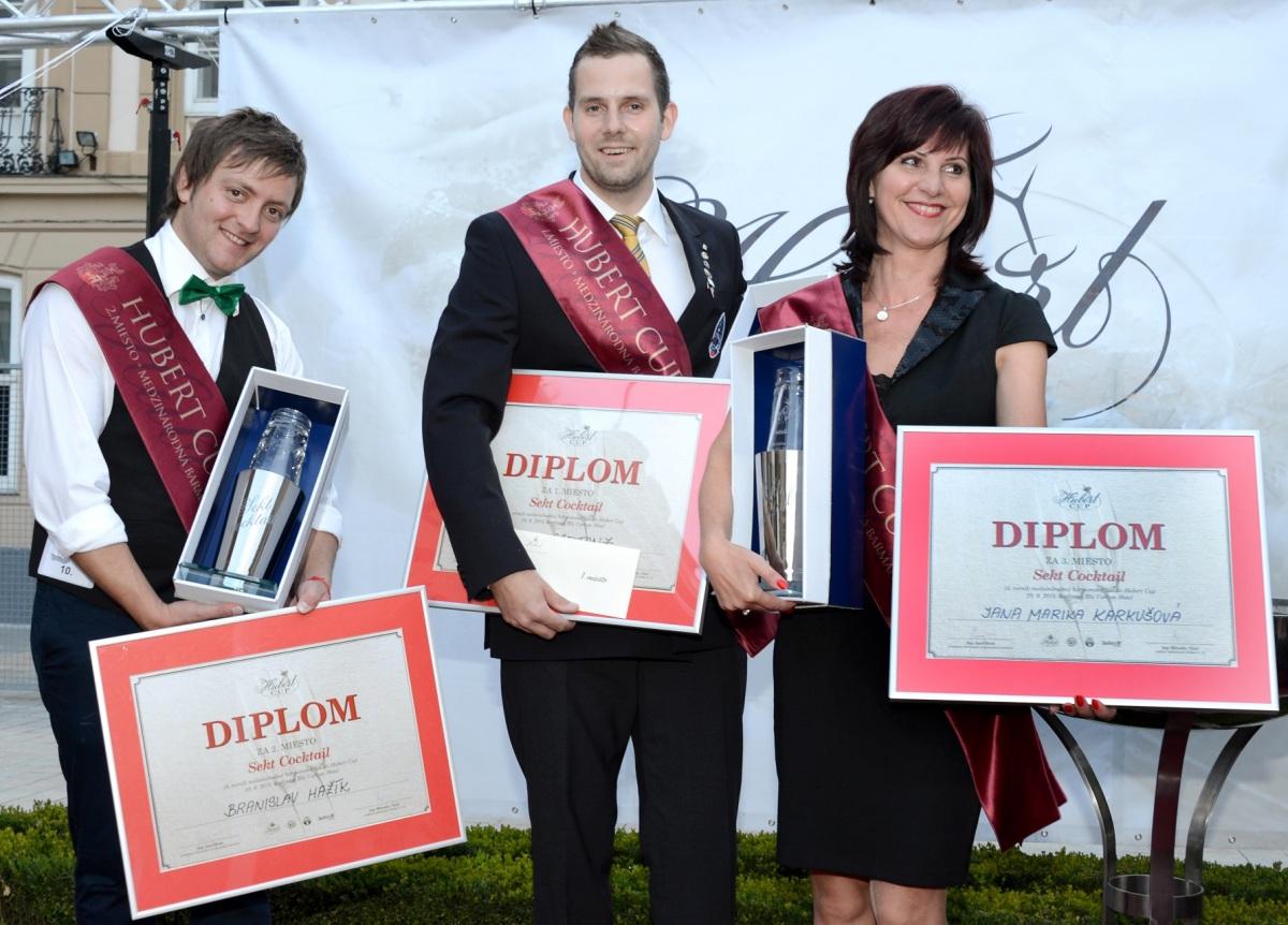 13. ročník Hubert Cup: Martin Vogeltanz z Plzne vyhral obe kategórie - Sekt cocktail aj Free style (FOTO)