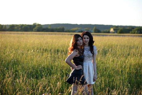 Celeste a Carmel Buckingham Foto: Lukáš Dvořák Zdroj: SLAVICA, www.slavica.cz, www.celestebuckingham.com