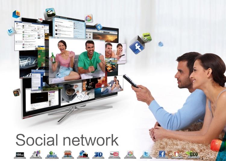 Televízia už zďaleka nie je pasívnym doplnkom v domácnosti. Technológie umožňujú televíziu  ovládať pomocou hlasu či gest. Intuitívna platforma posúva hranice využiteľnosti televízorov internetu a aplikáciám, podobne, ako to poznáme z počítačov, tabletov a smartfónov.