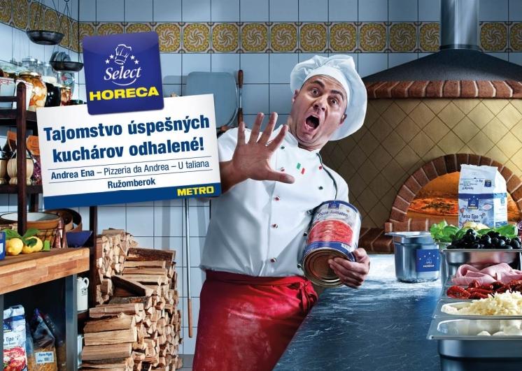 V kampani sa predstaví celkom päť šéfkuchárov z piatich rôznych reštaurácií po celom Slovensku. Na fotografii: Andrea Ena, Pizzeria da Andrea, Ružomberok.