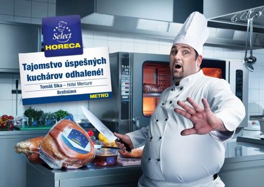 Akcent kampane je kladený na nový brand pozicioning, v ktorého centre sú skutočné príbehy zákazníkov. Na fotografii: Tomáš Sika, Hotel Mercure, Bratislava
