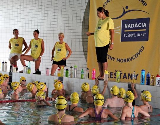 Najúspešnejšia slovenská plavkyňa a zároveň aj držiteľka dvoch olympijských medailí Martina Moravcová je v pokročilom štádiu tehotenstva.