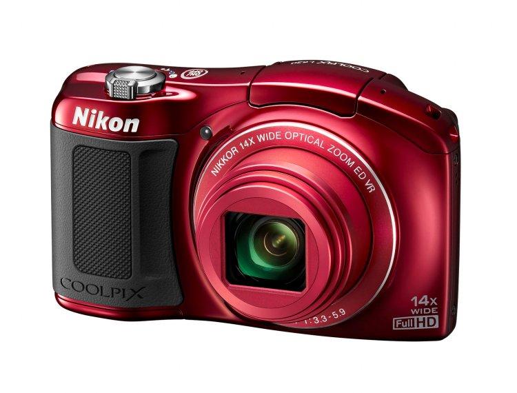 Nikon COOLPIX L620: Nový prírastok do série L s veľkým priblížením. 18-megapixelový snímač CMOS typu Back-Illuminated v kombinácii so širokouhlým objektívom NIKKOR so 14-násobným priblížením zabezpečujú, že COOLPIX L620 vždy poskytne výsledky najvyššej kvality.