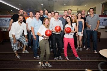 Účastníci druhého kola P3 Bowling Cupu