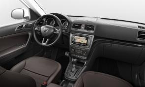 Yeti je prvým modelom značky, vybaveným systémom Optical Parking Assistant (zadnou parkovacou kamerou).