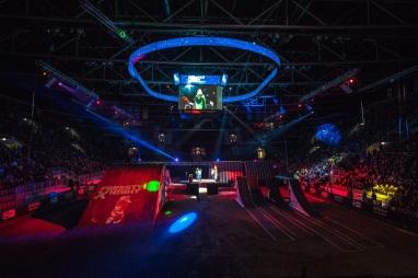 Sony Xperia Freestyle X-Night: Dva roky po sebe sa jazdilo a skákalo v aréne bratislavskeého Zimného štadióna Ondreja Nepelu.