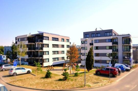 Projekt Tarjanne Dúbravka prinesie do mestskej časti Dúbravka celkovo 139 bytov v siedmich nízkopodlažných bytových domoch.