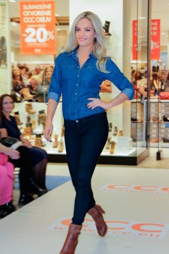 Tvár značky CCC topmodelka a Miss World Taťána Kuchařová predstavila novú kolekciu topánok, kabeliek adoplnkov sezóny jeseň/zima 2013.