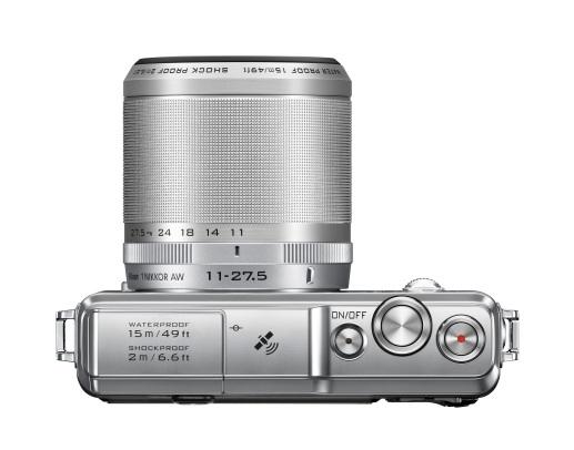 Nikon prináša Nikon 1 AW1 - historicky prvý fotoaparát s vymeniteľným objektívom, ktorý je vodotesný a odolný voči otrasom.